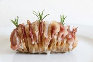 Patate Rosè Hasselback di Francesca Glam - Foodblogger Selenella