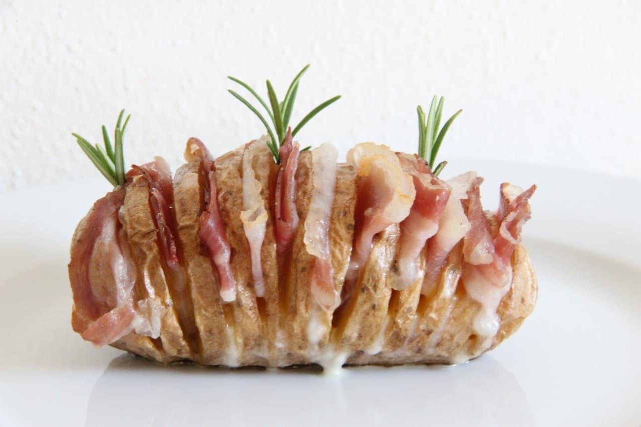 Patate Rosè Hasselback di Francesca Glam - Ricette Selenella