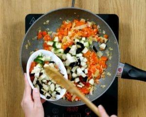 Ratatouille con patate - Ricette Selenella