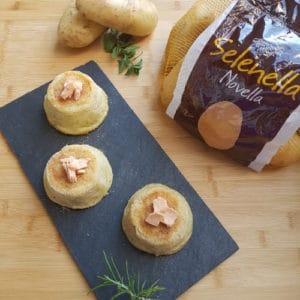 Tortini di patate e salmone di Alessia Bradley - Ricette Selenella