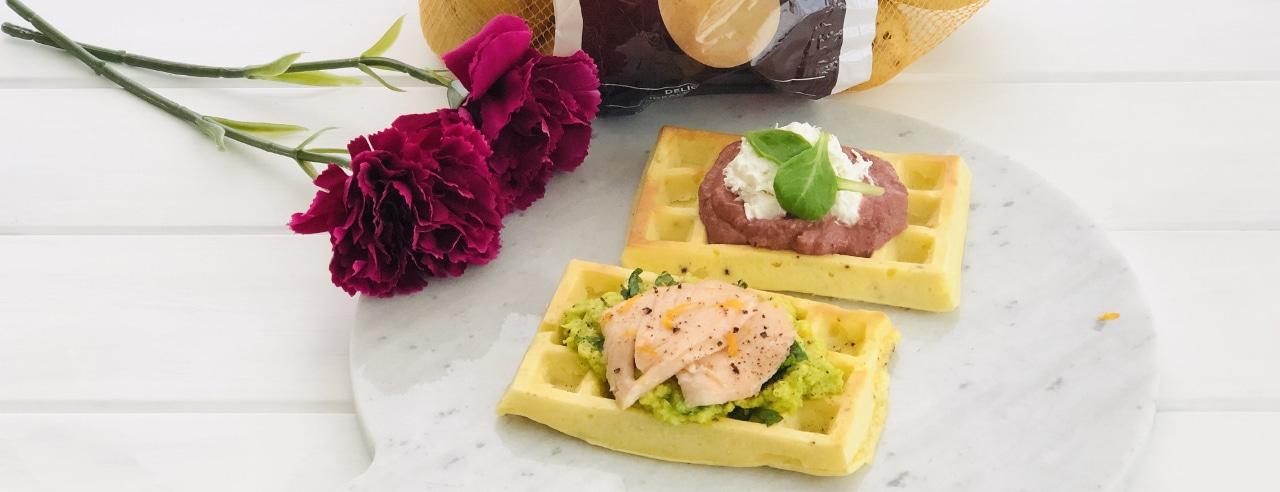Waffle di patate farciti di Annalisa - Ricette Selenella