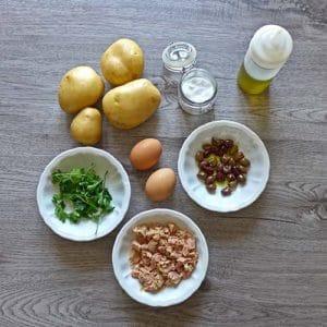 Insalata di Patate e Tonno - Ricette Selenella