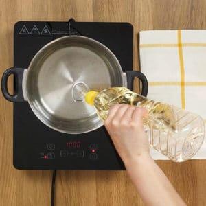 Hamburger e chips di patate - Ricette Selenella