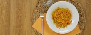 Riccioli di patate e carote al curry ricetta Selenella
