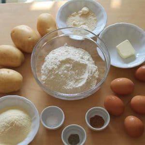 Ricetta con tortelli di patate parmensi