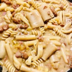 Pasta spezzata, patate e fagioli di Gianluca - Ricette Selenella