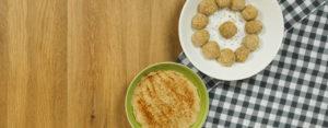 Polpette di patate e hummus di ceci ricette Selenella