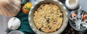 Torta dolce di patate, uvetta e sciroppo d'acero Ricette Selenella
