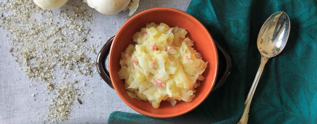 Fronne e patate - Ricette Selenella