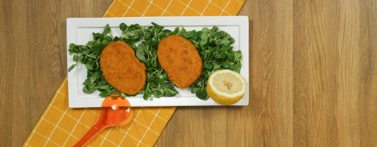 Cotoletta vegetariana - Ricette Selenella