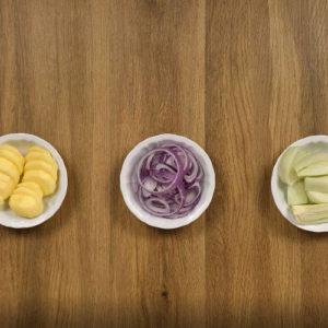 Contorno di finocchi, patate e curcuma - Ricette Selenella