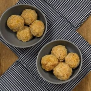 Polpette patate, zucca, salvia e ceci Ricette Selenella