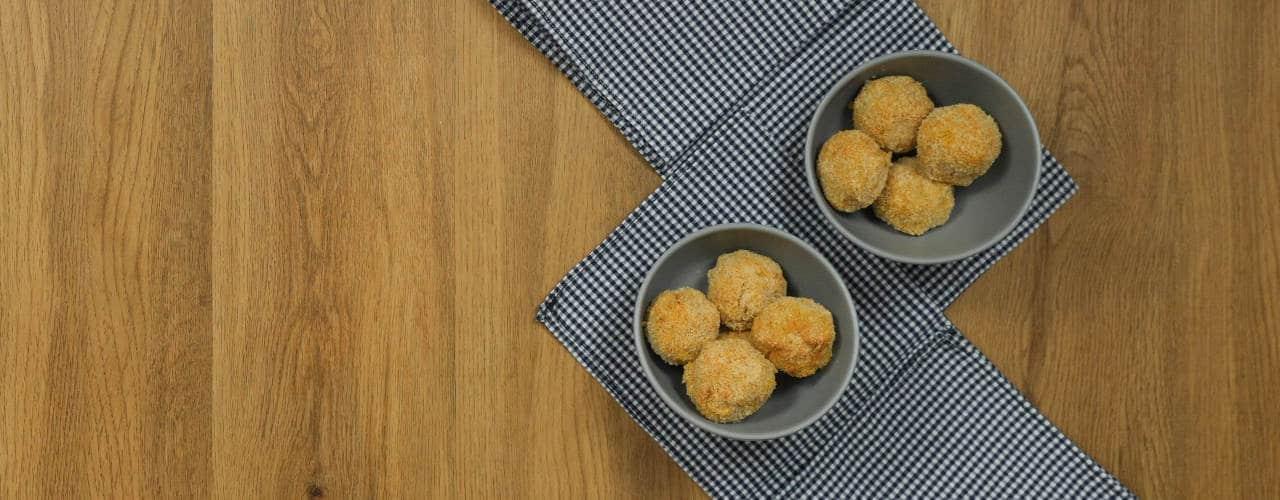 Polpette di patate, zucca, salvia e ceci - Ricette Selenella