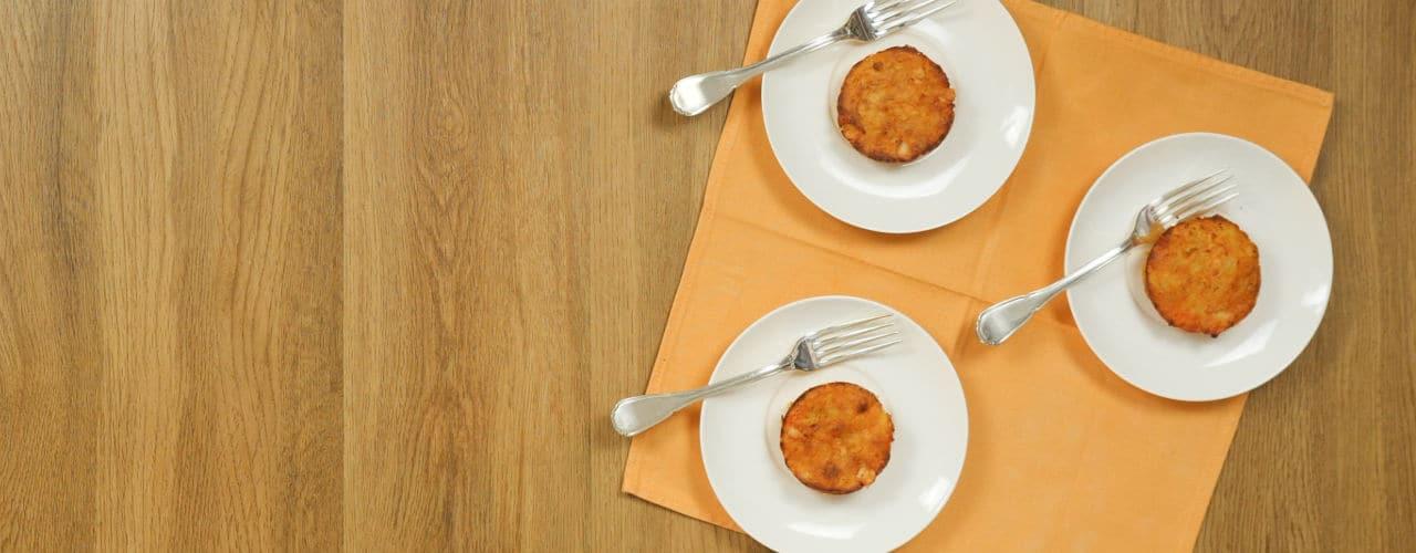 Tortini di zucca e patate - Ricette Selenella