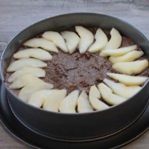 Torta di patate, cacao e pere Ricetta Selenella