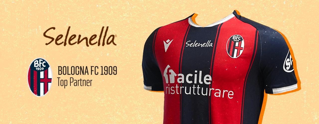 Selenella è il secondo sponsor ufficiale del Bologna F.C - Il Blog di Selenella