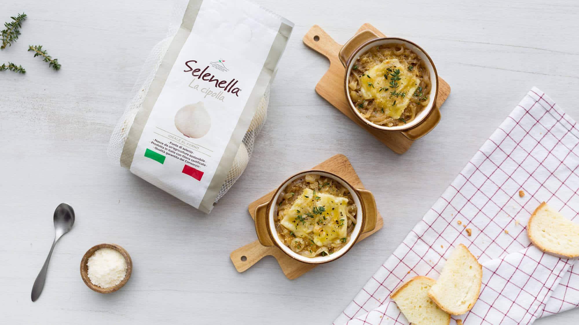 Zuppa di cipolle al forno - Ricette Selenella