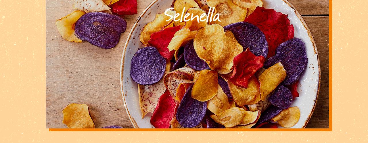 Chips di patate e verdure: gli snack di un'alimentazione sana - Il Blog di Selenella